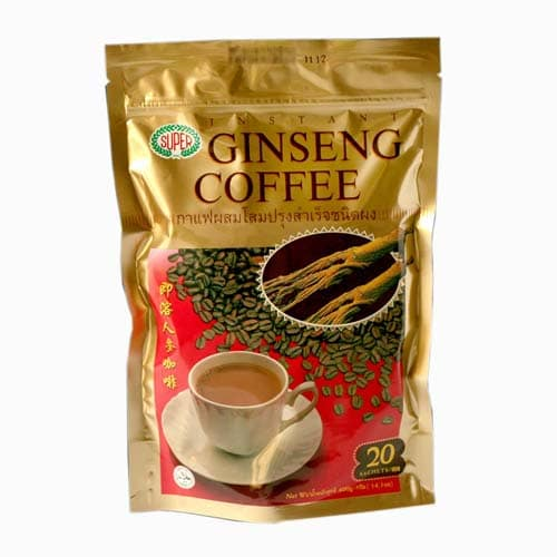 Ginseng Coffee cafe benefits